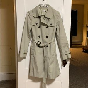 Jcrew Icon Trench Coat Size 4